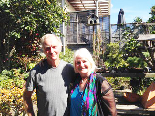 Russell Withers and Annette Coulter, Ponsonby, NZ, 2014